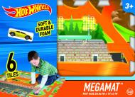 TCG žaidimo kilimėlis su mašinėle Hot Wheels 6-piece Tile Mega Mat, 30746 30746