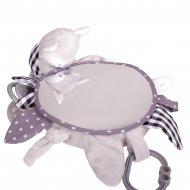 MILLI pakabinamas veidrodis su kramtuku Lapiukas 15 cm, YT19535/15