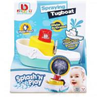 BB JUNIOR vonios žaislas Splash 'N Play Spraying Tugboat, 16-89003 16-89003
