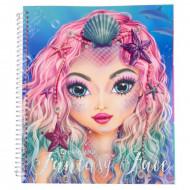 Create Your Fantasy Face Spalvinimo knygelė, 10440 10440