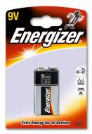 ENERGIZER baterijos 6LR61 9V, blister*1