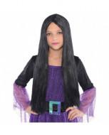 AMSCAN Raganos perukas juodas, 840381-55 840381-55
