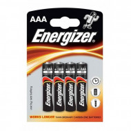ENERGIZER baterijos LR3 AAA, blister*4