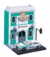 BBURAGO 1:43 policijos nuovada su Lietuvos Policijos automobiliu Bburago City, 18-31502 18-31502