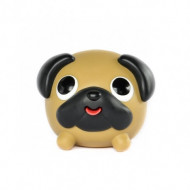 JABBER BALL Emocinis žaisliukass PUG dog, 90566 90566