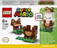 71385 LEGO® Super Mario Tanooki Mario galios paketas 71385