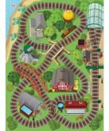 TCG žaidimo kilimėlis su mašinėle Thomas & Friends Original, 72010 72010