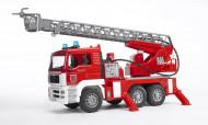 BRUDER gaisrinė su kopėčiom vandens pompa, 02771 02771