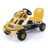 HAUCK Keturratis pedalinis Transformer Go-Cart BumbleBee, T90406 T90406