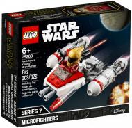 """75263 LEGO® Star Wars™ Pasipriešinimo """"Y-Wing™"""" mažasis kovotojas 75263"""