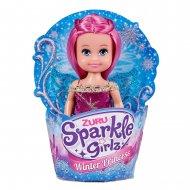 SPARKLE GIRLZ lėlė keksiuko formelėje Winter Princess, 10 cm, assot., 10031TQ3 10031TQ3