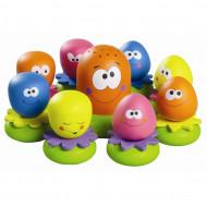 TOMY vonios žaislas Aštuonkojų šeimynėlė, E2756