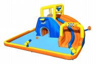 BESTWAY pripučiamas žaidimų centras Super Speedway Mega Water Park, 5.51m x 5.02m x 2.65m, 53377 53377