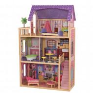 KIDKRAFT medinis lėlių namas su baldais Kayla, 65092 65092