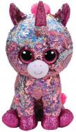 TY Beanie Boos Flippable vienaragis rožinis SPARKLE 15 cm, TY36266