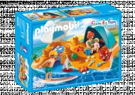 PLAYMOBIL FAMILY FUN Šeima paplūdimyje, 9425 9425