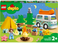 10946 LEGO® DUPLO® Town Nuotykiai su šeimos nameliu ant ratų 10946