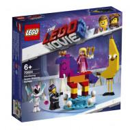 70824 LEGO® Movie 2 Susipažink su Karaliene Kas Benutiktų 70824