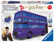 RAVENSBURGER 3D dėlionė Harry Potter Knight Bus, 216d., 11158 11158