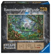 RAVENSBURGER dėlionė ESCAPE 9: Unicorn, 759d., 16512 16512