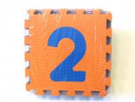 Chippy Dėlionė kilimėlis skaičiai 0-9, 10vnt, art.A015301