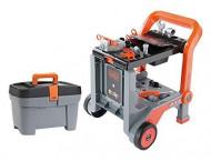 SMOBY BLACK & DECKER karutis su įrankiais + dėžė, 7600360202 7600360202