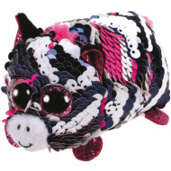 TY Teeny Tys sequin zebra rožinė ZOEY, TY42404