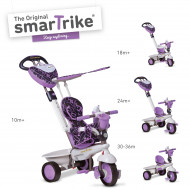 SMART TRIKE triratukas violetinis Dream, 1590700 1590700