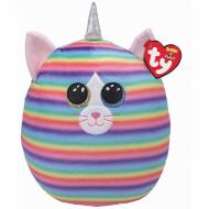 TY Squish a Boos pliušinė katė HEATHER, 40cm, TY39189 TY39189