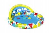 BESTWAY pripučiamas baseinas Splash & Learn, 1.20m x 1.17m x 46cm, 52378 52378