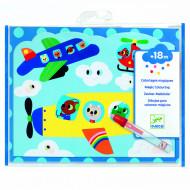 DJECO Spalvinimo knygelė Magic sky, DJ09061 DJ09061