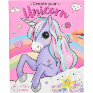 Ylvi Create your Unicorn Colouring Book, 10534 10534