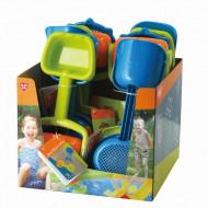 PLAYGO komplektas smėlio įrankių, 2 rinkiniai, 55265 55265
