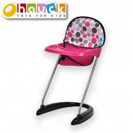 HAUCK maitinimo kėdutė lėlei, rožinė, D93209 D93209