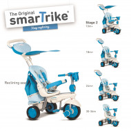 SMART TRIKE triratukas mėlynas Splash, 6800300 6800300