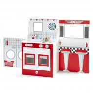 PLUM žaislinė virtuvė, kavinė ir teatras viename, 41090 41090