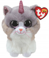 TY Beanie Boos pliušinė katė ASHER 15cm, TY36306 TY36306