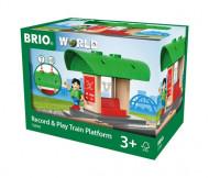BRIO traukinių stotis Record & Play, 33840 33840