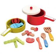 ELC Wooden Pots & Pans, 146057