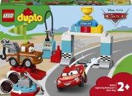10924 LEGO® DUPLO Cars™ Žaibo Makvyno lenktynių diena 10924