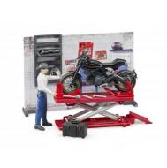 BRUDER rinkinys Motorcycle service, 62101 62101