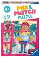 RAVENSBURGER dėlionė Job Swap Mix & Match, 3x24d., 05136 05136