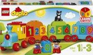 10847 LEGO® DUPLO® Creative Play Skaičių traukinys 10847
