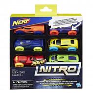 NERF mašinos 6vnt Nitro foam, C3171EU5 C3171EU5
