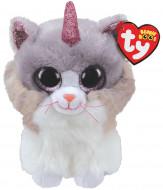 TY Beanie Boos pliušinė katė su ragu ASHER 23cm, TY36477 TY36477