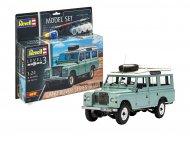 REVELL modeliavimo rinkinys Land Rover Series III, 67047 67047