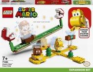71365 LEGO® Super Mario™ Augalų piranijų čiuožynės papildymas 71365