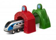 SMART TECH BRIO traukinių tuneliai su traukiniu, 33834 33834