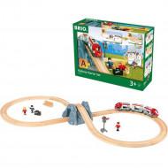 BRIO traukinio bėgių startinis rinkinys, 33773 33773