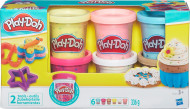 PLAY DOH rinkinys Playdoh Confetti Compound Collection, B3423EU6 B3423EU6